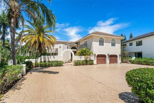 Photo of 217 Thatch Palm Drive, Boca Raton, FL 33432 (MLS # RX-10747431)