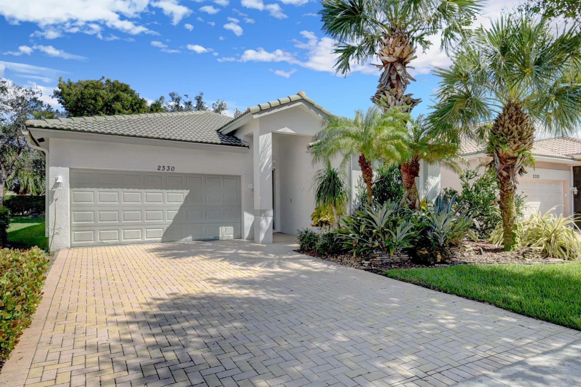 2330 Sapphire Circle, West Palm Beach, FL 33411 - #: RX-10657432