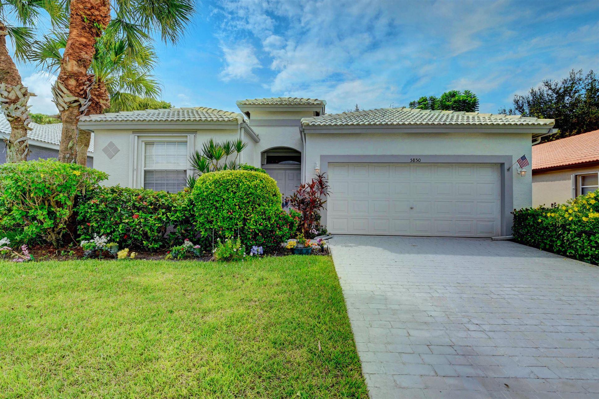 5850 Seashell Terrace, Boynton Beach, FL 33437 - #: RX-10659432