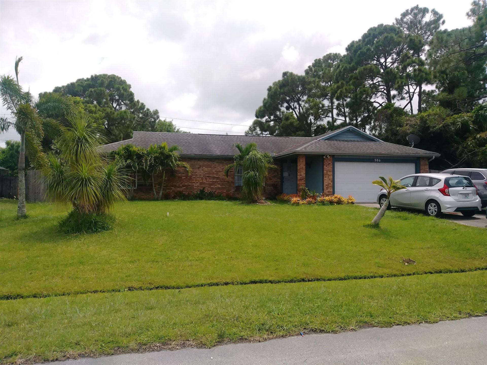 986 SW Eureka Avenue SW, Port Saint Lucie, FL 34953 - #: RX-10638433