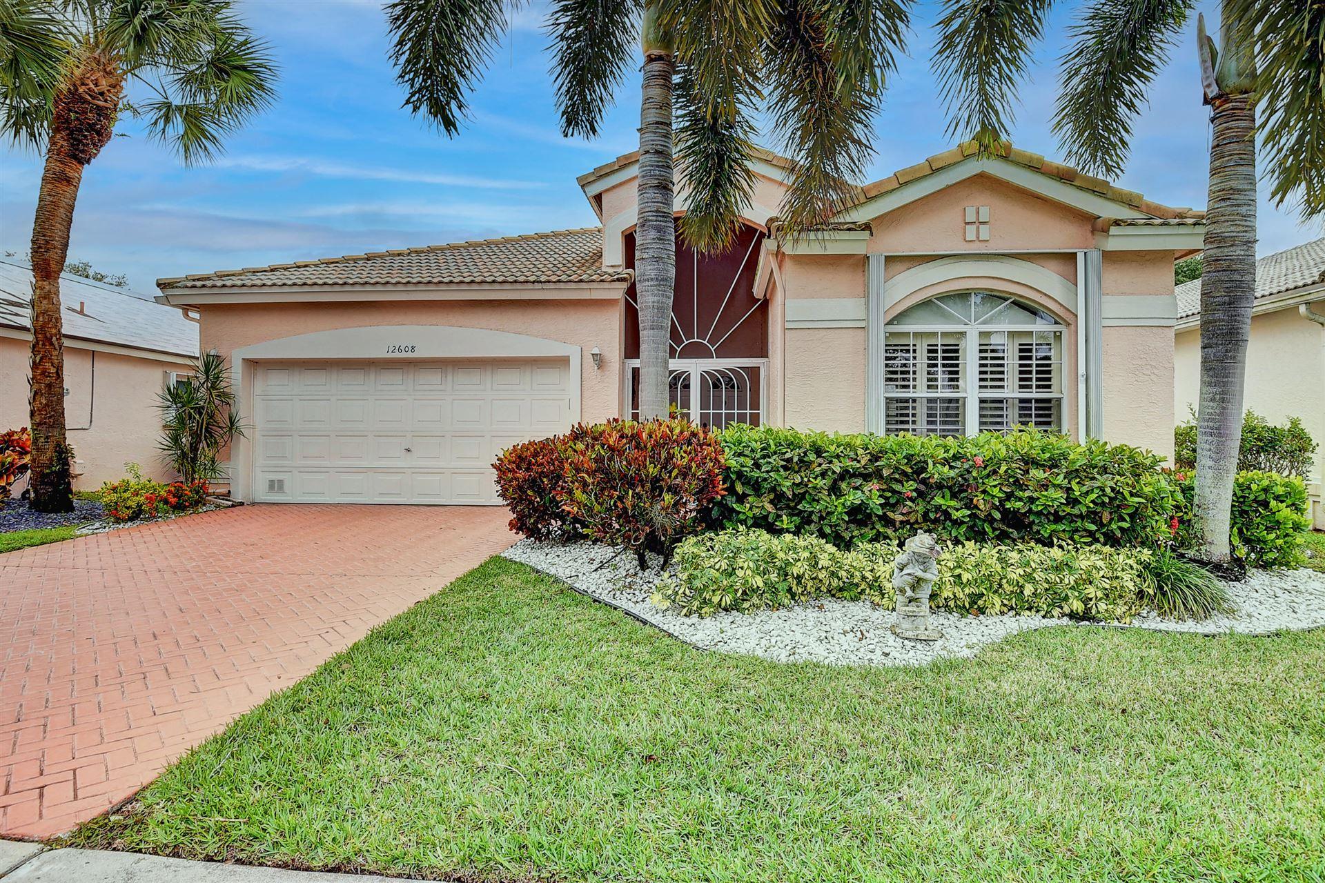 12608 Coral Lakes Drive, Boynton Beach, FL 33437 - #: RX-10707434