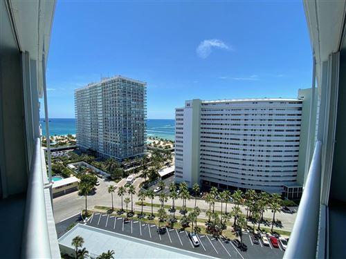 Photo of 1920 S Ocean Drive #1606, Fort Lauderdale, FL 33316 (MLS # RX-10621435)
