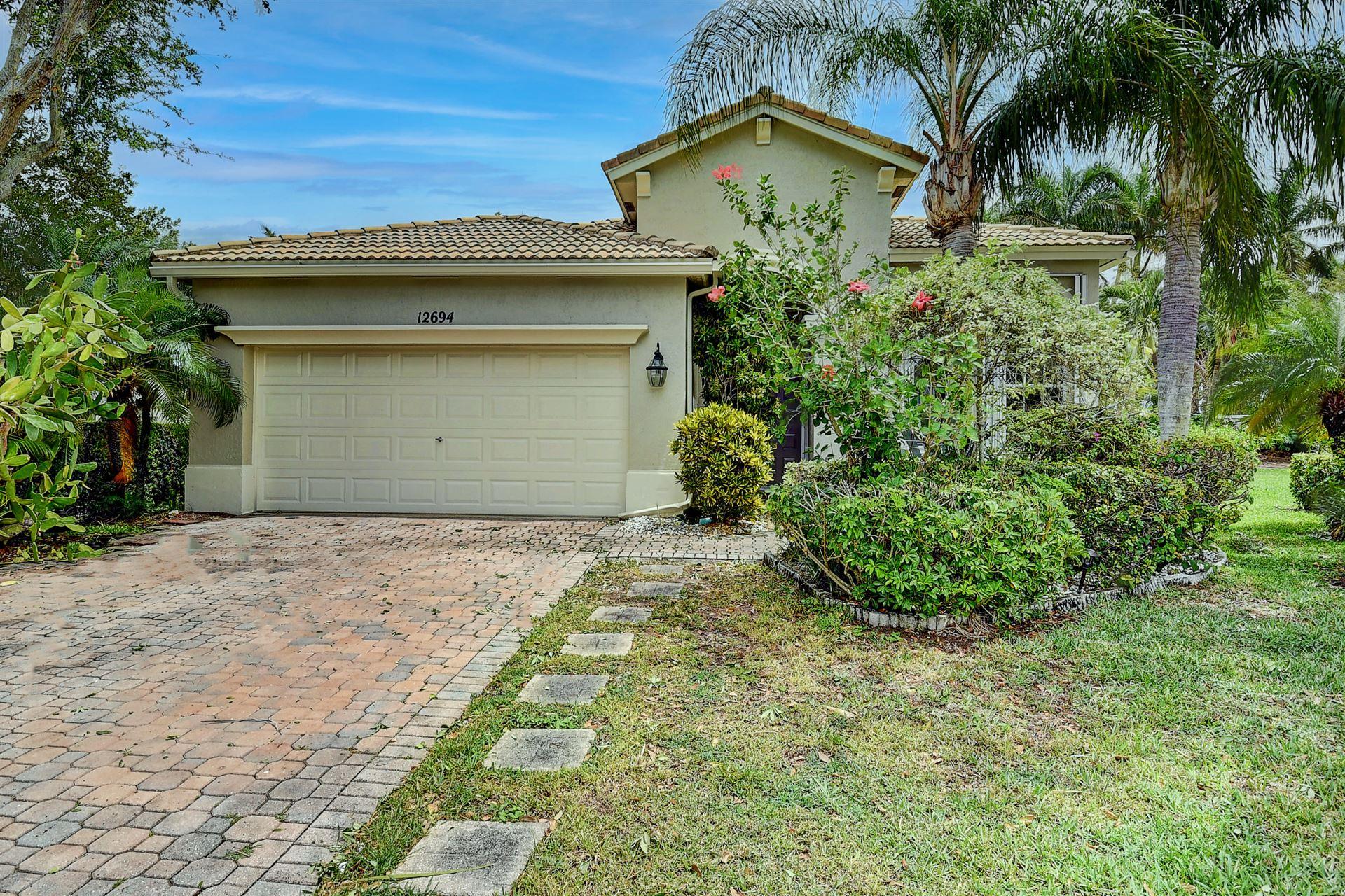 12694 Via Lucia, Boynton Beach, FL 33436 - #: RX-10707438