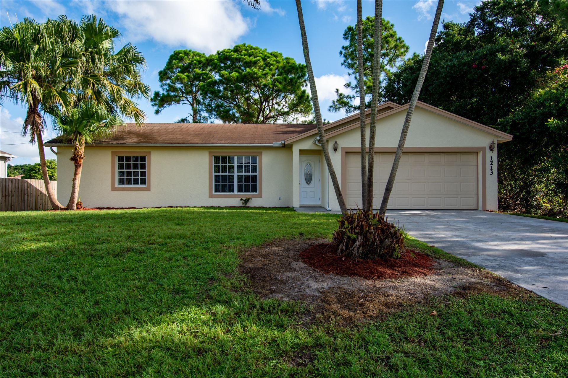 1213 SW Marmore Avenue, Port Saint Lucie, FL 34953 - #: RX-10731440