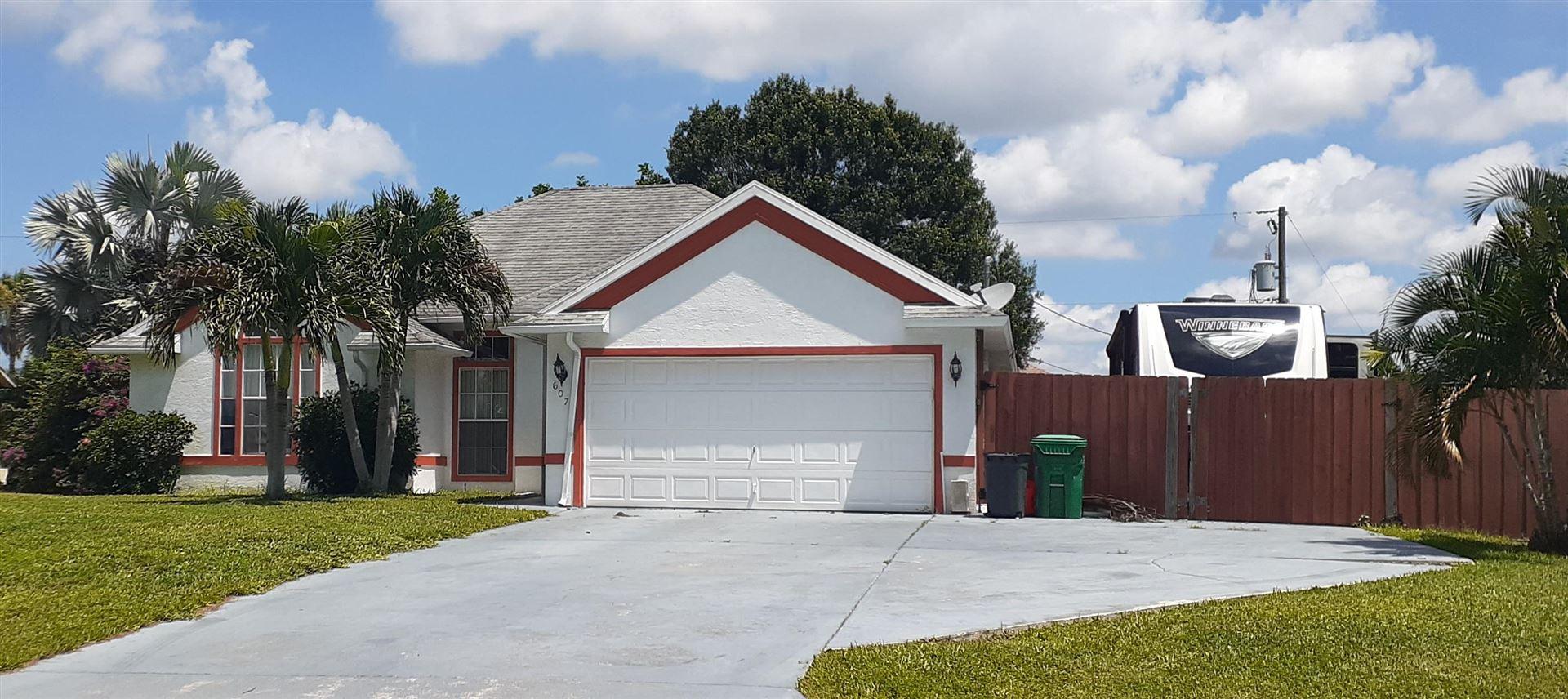 607 SW Dolores Avenue, Port Saint Lucie, FL 34983 - #: RX-10735441