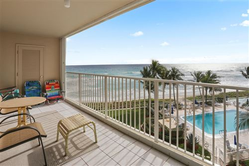 Photo of 3101 S Ocean Boulevard #520, Highland Beach, FL 33487 (MLS # RX-10595442)