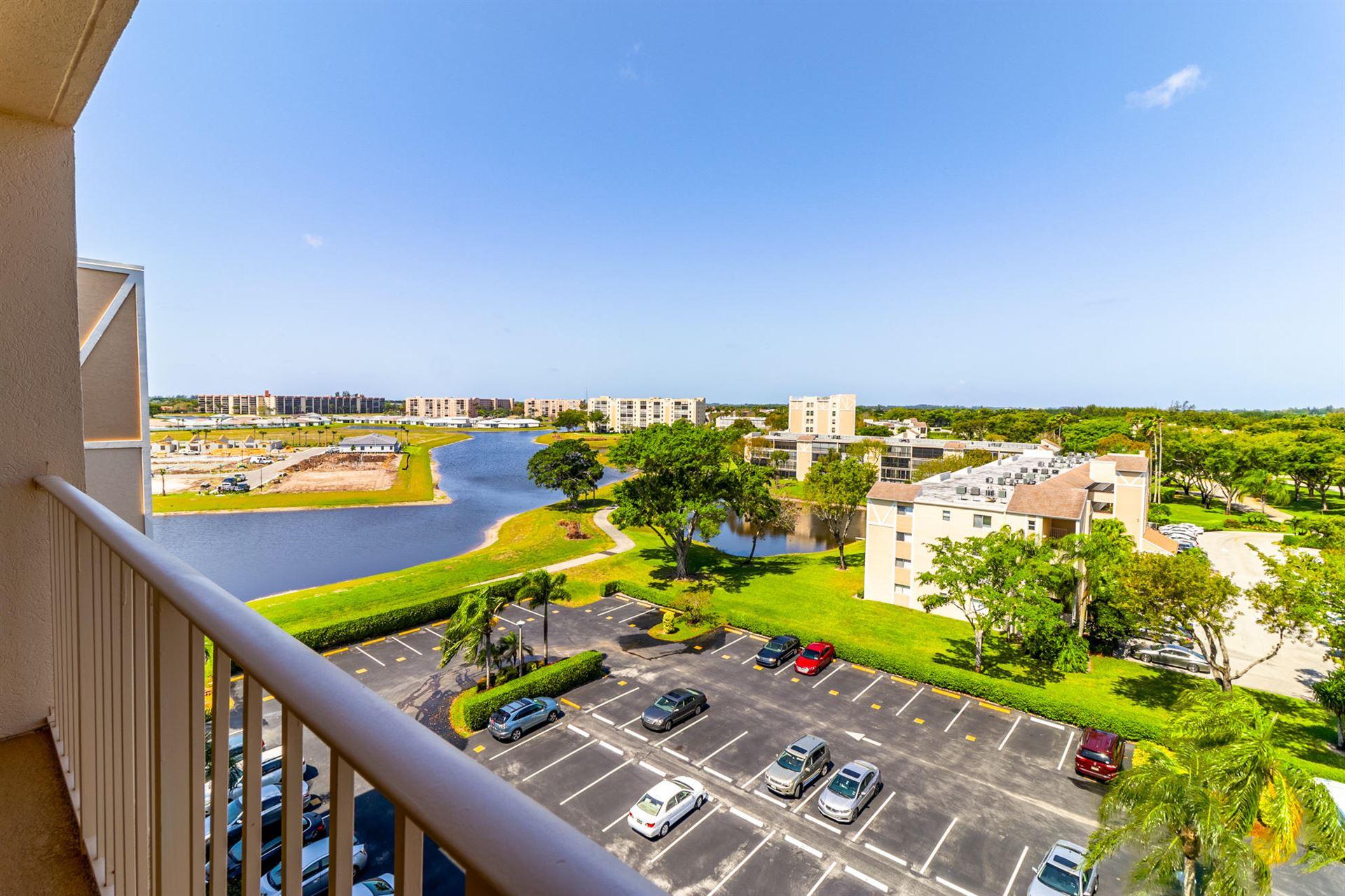 7076 Huntington Lane #805, Delray Beach, FL 33446 - MLS#: RX-10707442