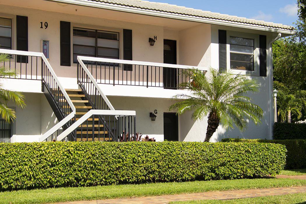 19 Stratford Drive #H, Boynton Beach, FL 33436 - #: RX-10629443