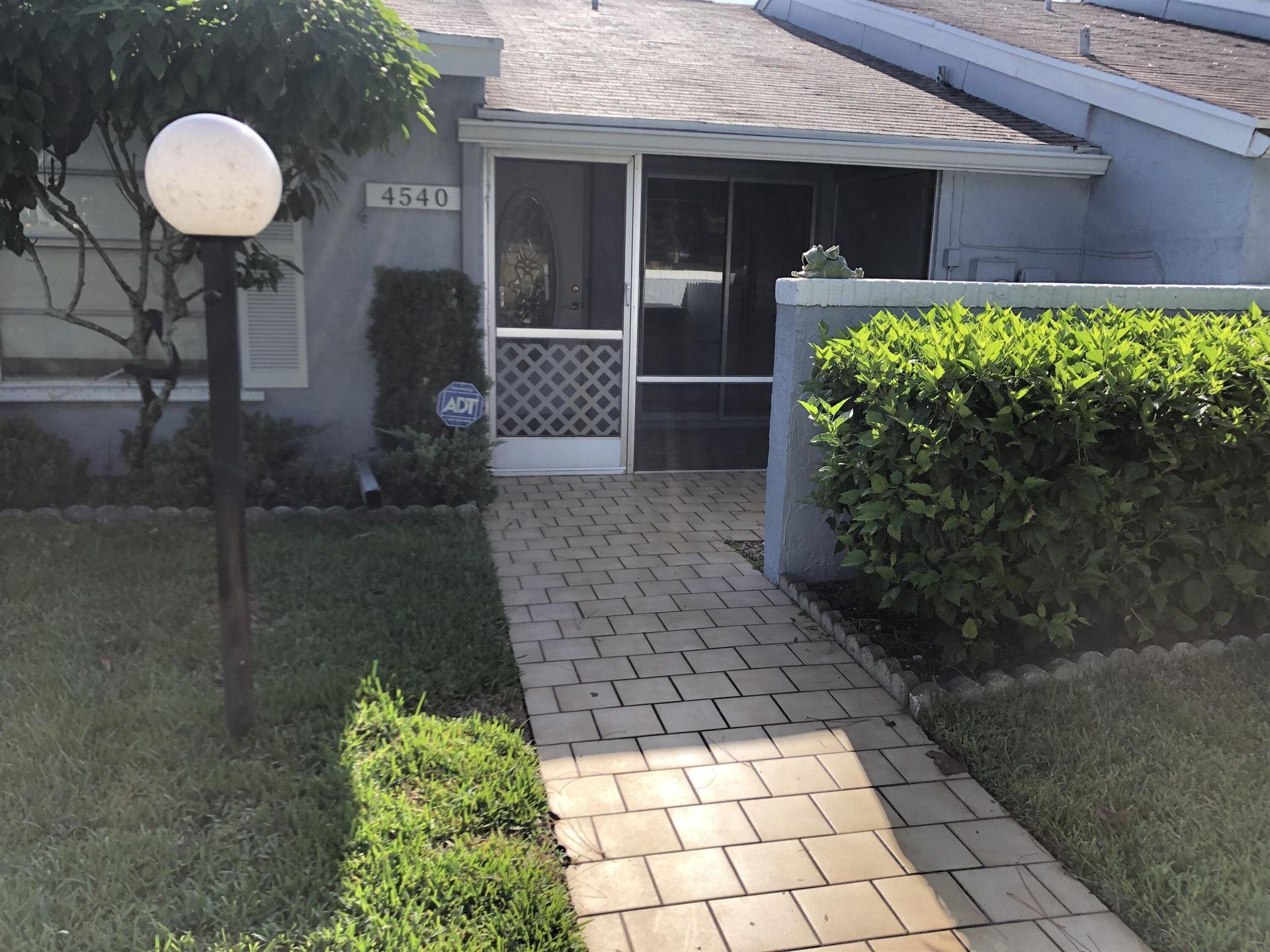 4540 Lucerne Villas Lane, Lake Worth, FL 33467 - MLS#: RX-10749443