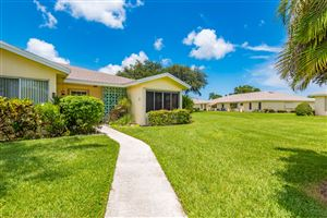 Photo of 5265 Lakefront Boulevard #D, Delray Beach, FL 33484 (MLS # RX-10547445)