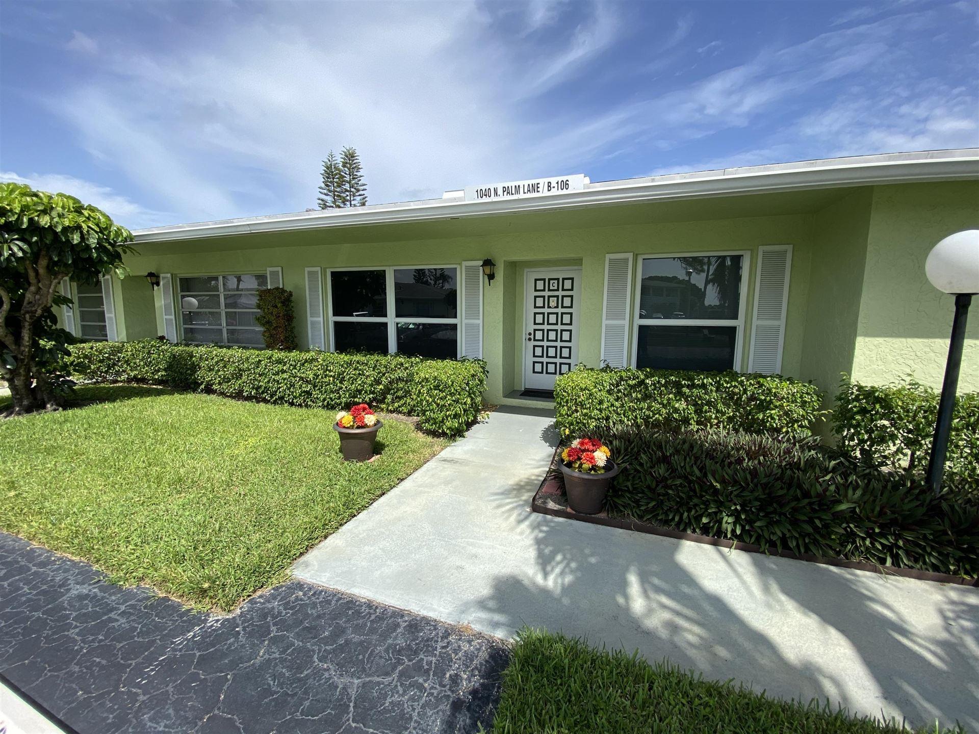 1040 N Palm Lane #C, Delray Beach, FL 33445 - #: RX-10653445