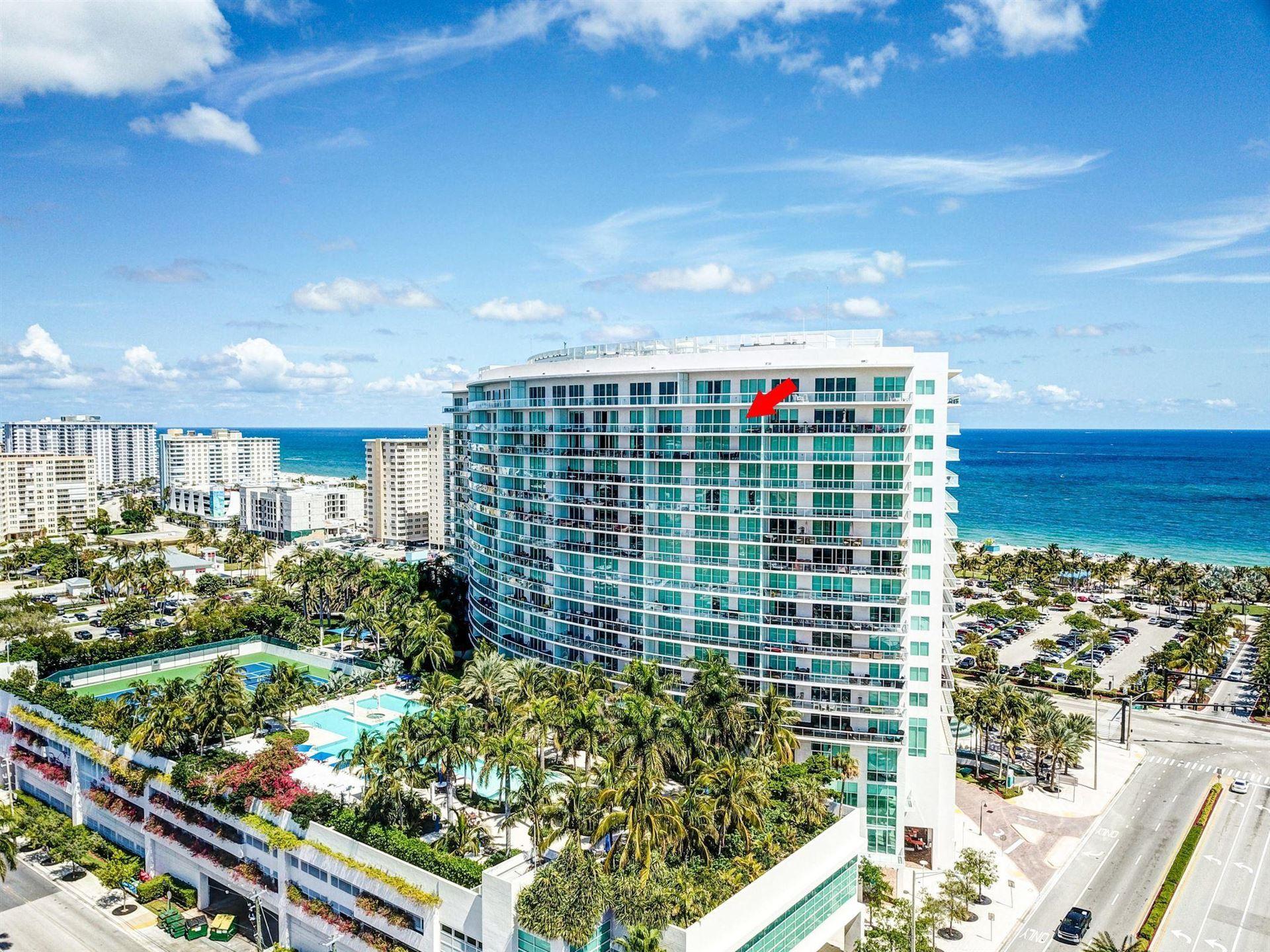 Photo of 1 N Ocean Boulevard #1713, Pompano Beach, FL 33062 (MLS # RX-10670448)