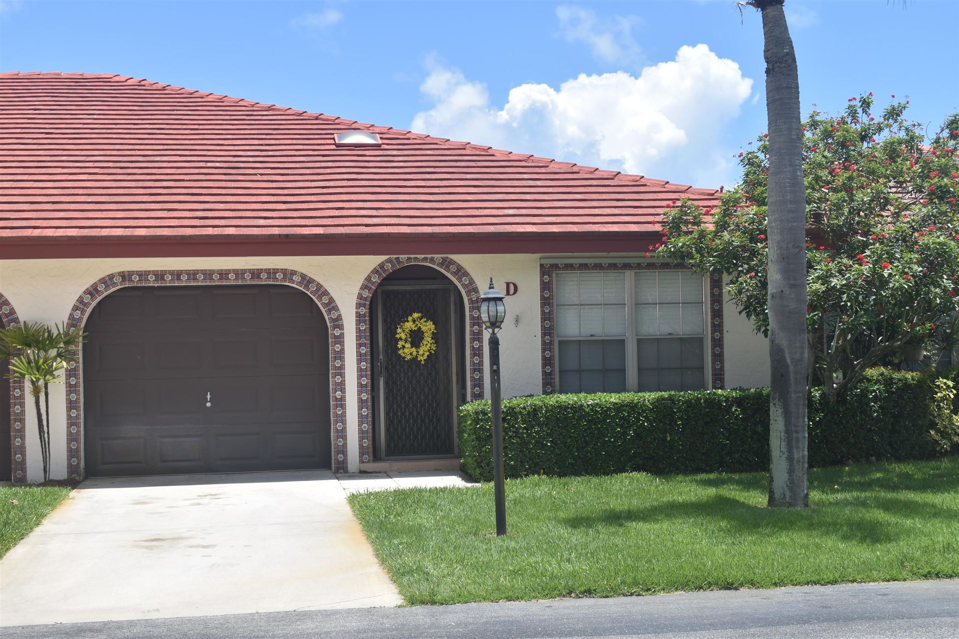 1452 SW 26 Avenue #D, Boynton Beach, FL 33426 - MLS#: RX-10732448