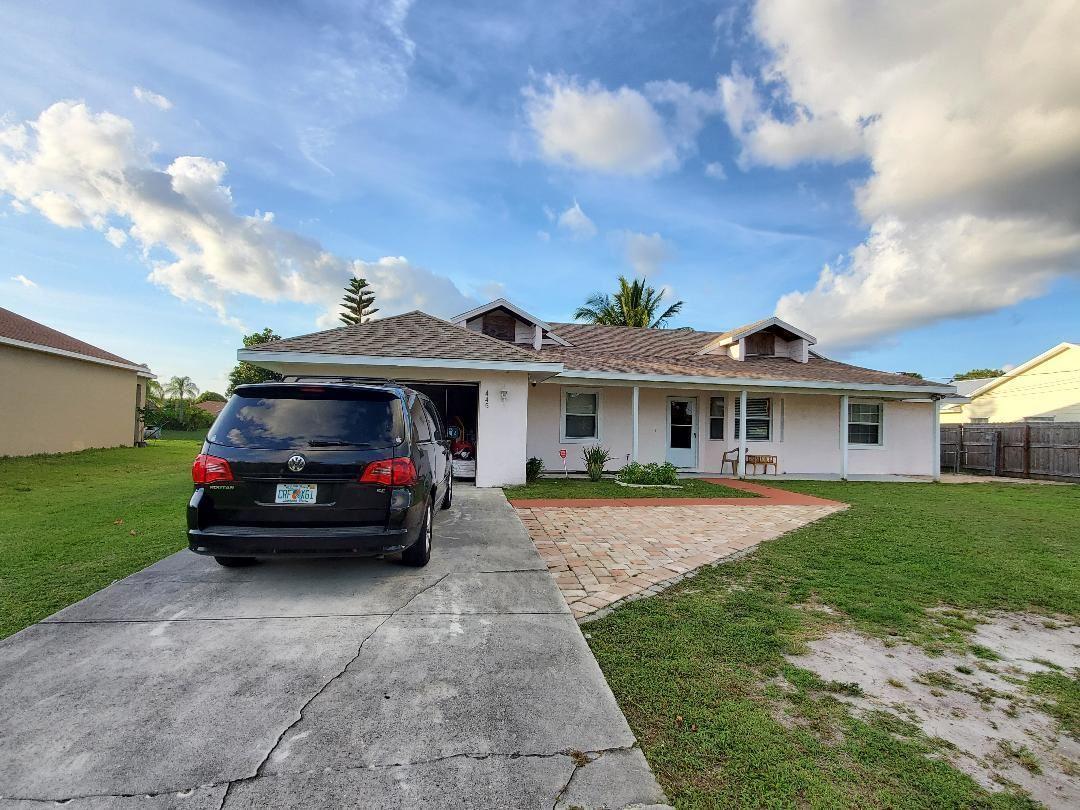 445 SW Cherryhill Road, Port Saint Lucie, FL 34953 - MLS#: RX-10714449