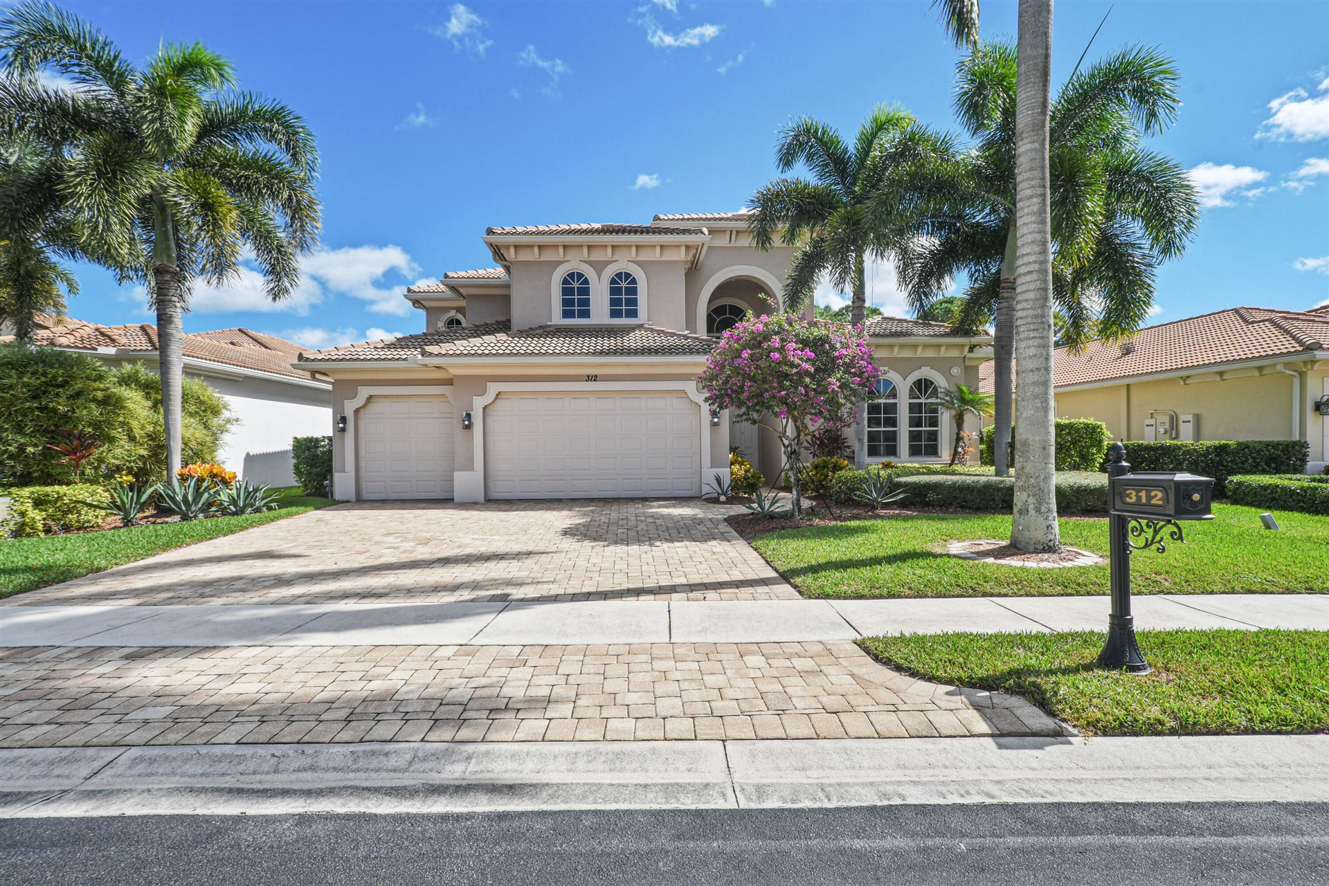 312 Charroux Drive, Palm Beach Gardens, FL 33410 - MLS#: RX-10753450