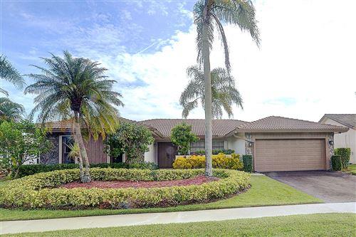 Photo of 10317 Crosswind Road, Boca Raton, FL 33498 (MLS # RX-10655451)
