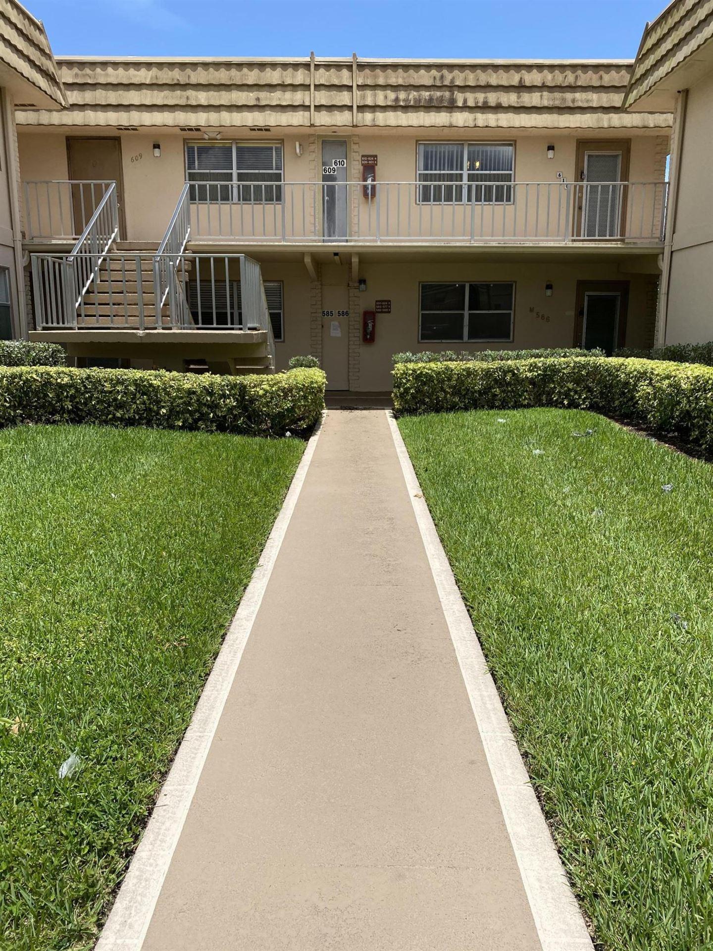 610 Monaco M, Delray Beach, FL 33446 - #: RX-10608451