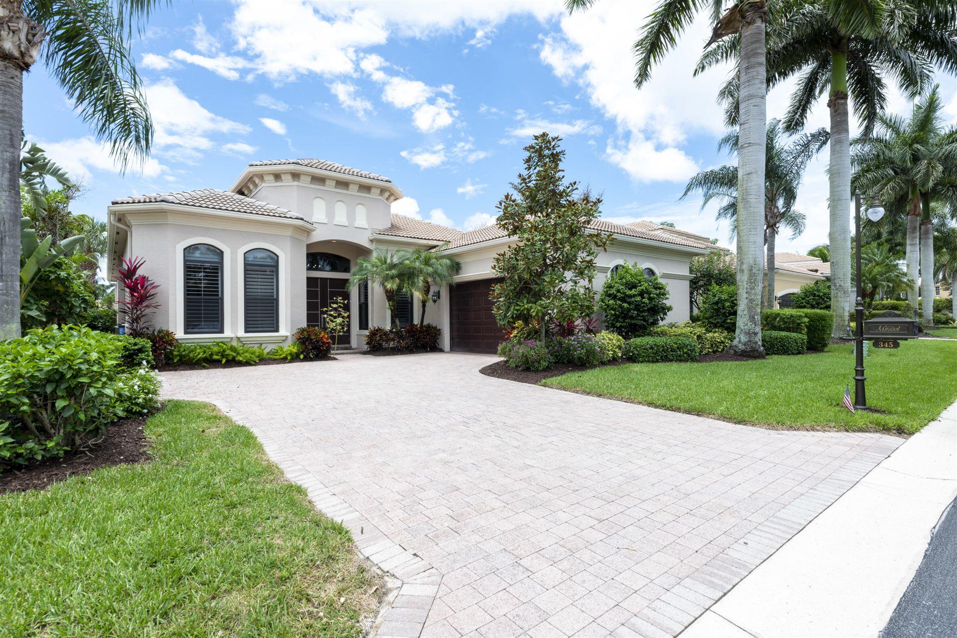 Photo of 345 Vizcaya Drive, Palm Beach Gardens, FL 33418 (MLS # RX-10728454)
