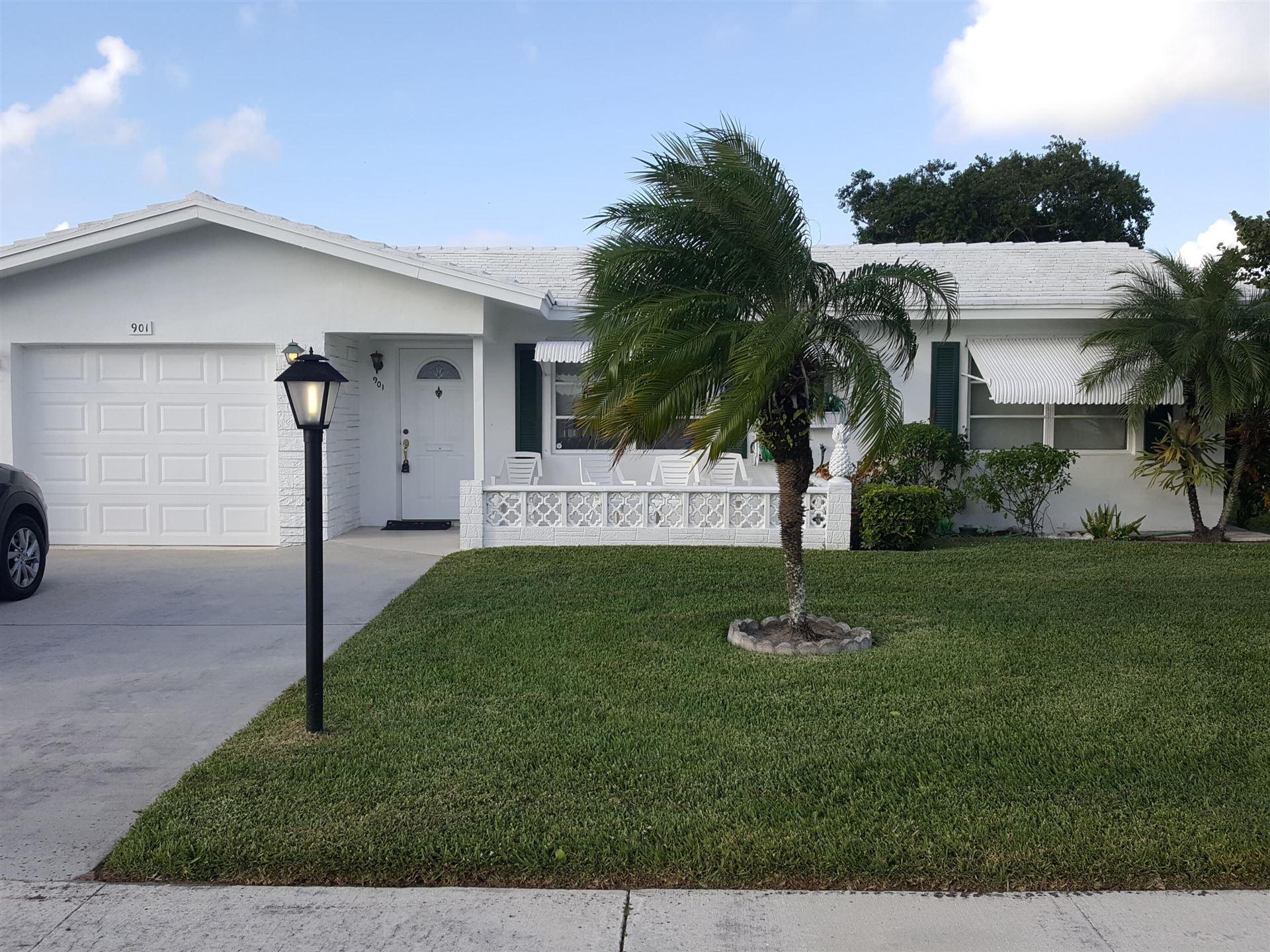 901 Ocean Drive, Boynton Beach, FL 33426 - #: RX-10740454