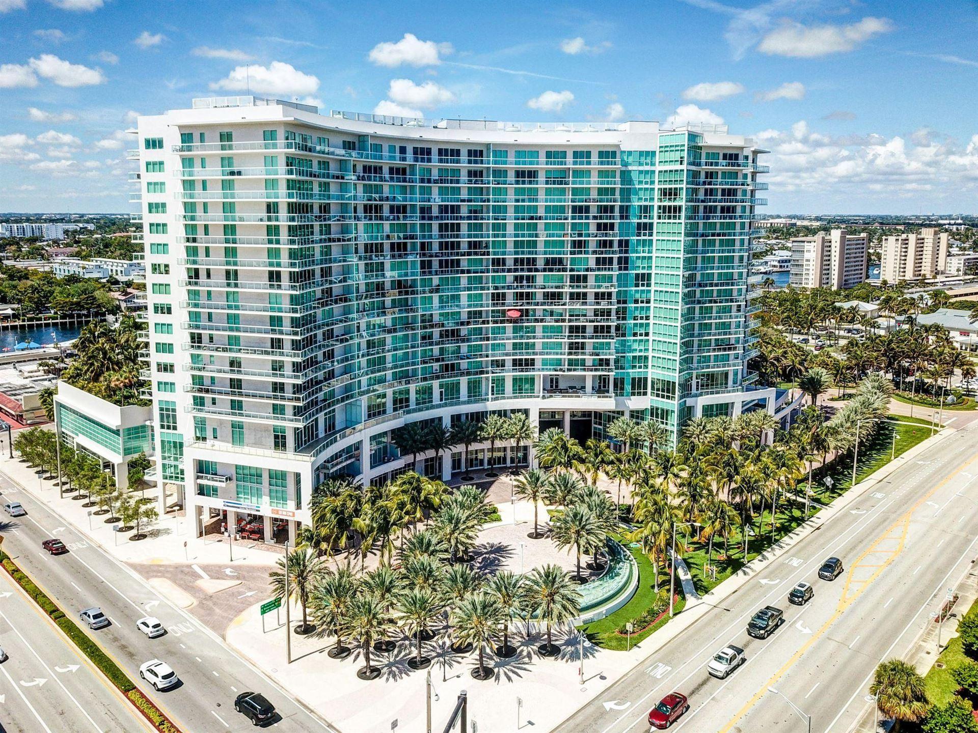 Photo of 1 N Ocean Boulevard #1104, Pompano Beach, FL 33062 (MLS # RX-10670455)