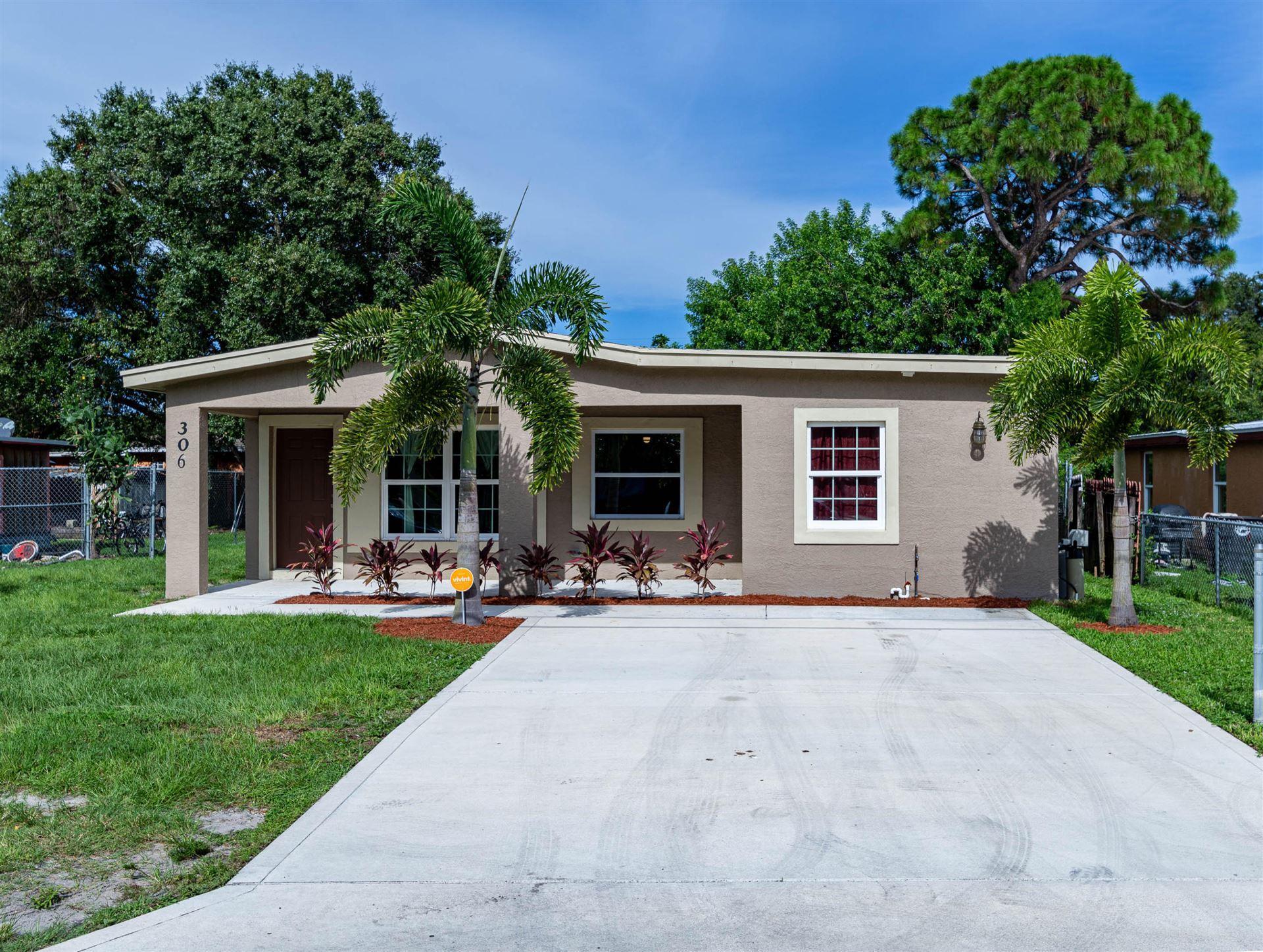 306 S 15th Street, Fort Pierce, FL 34950 - #: RX-10641456