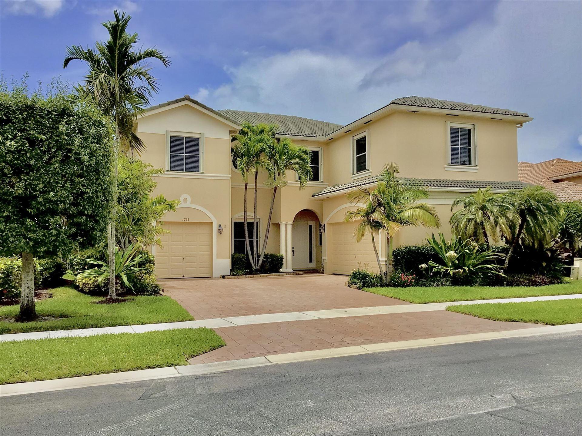 1236 Bay View Way, Wellington, FL 33414 - MLS#: RX-10734456
