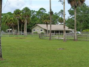 Photo of 3571 E Road, Loxahatchee Groves, FL 33470 (MLS # RX-10457457)