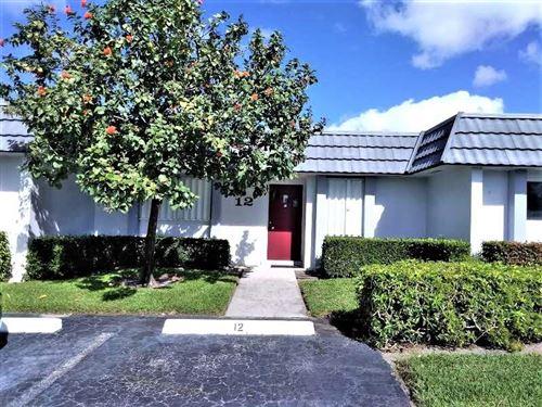 Photo of 2886 Fernley Drive E #12, West Palm Beach, FL 33415 (MLS # RX-10638457)