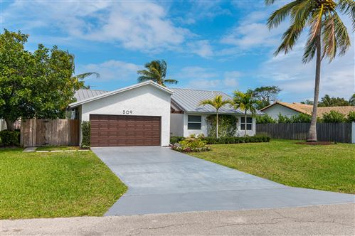 Photo of 509 Enfield Road, Delray Beach, FL 33444 (MLS # RX-10696457)
