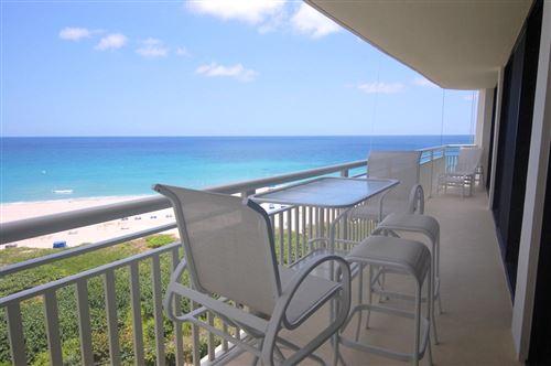 Photo of 3000 N Ocean Drive #9-F, Singer Island, FL 33404 (MLS # RX-10651458)