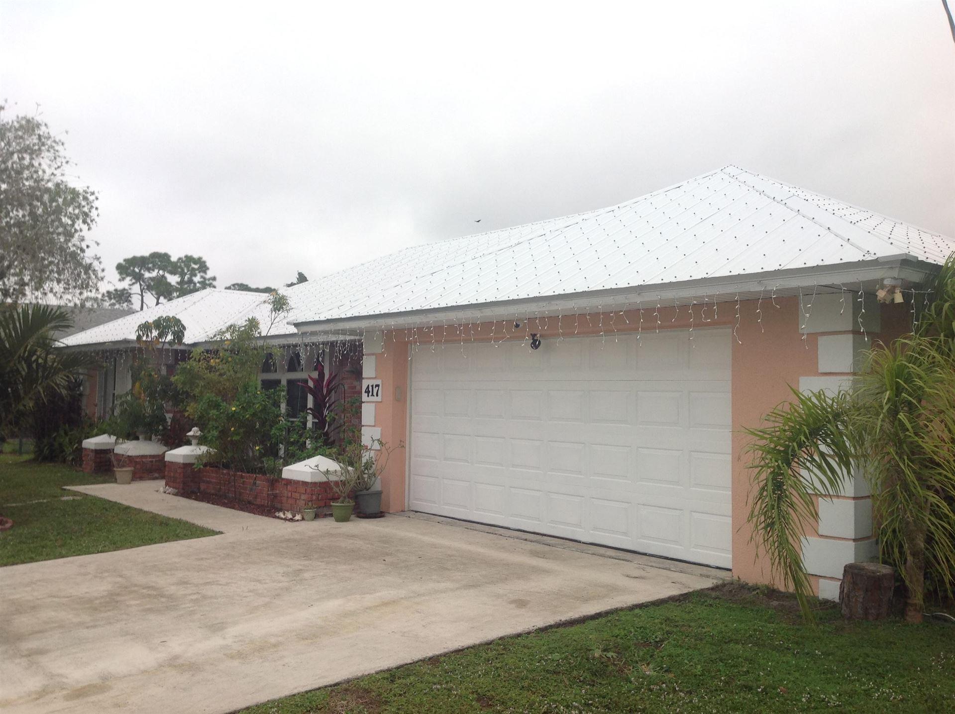 417 NE Midvale Street, Port Saint Lucie, FL 34983 - #: RX-10678459