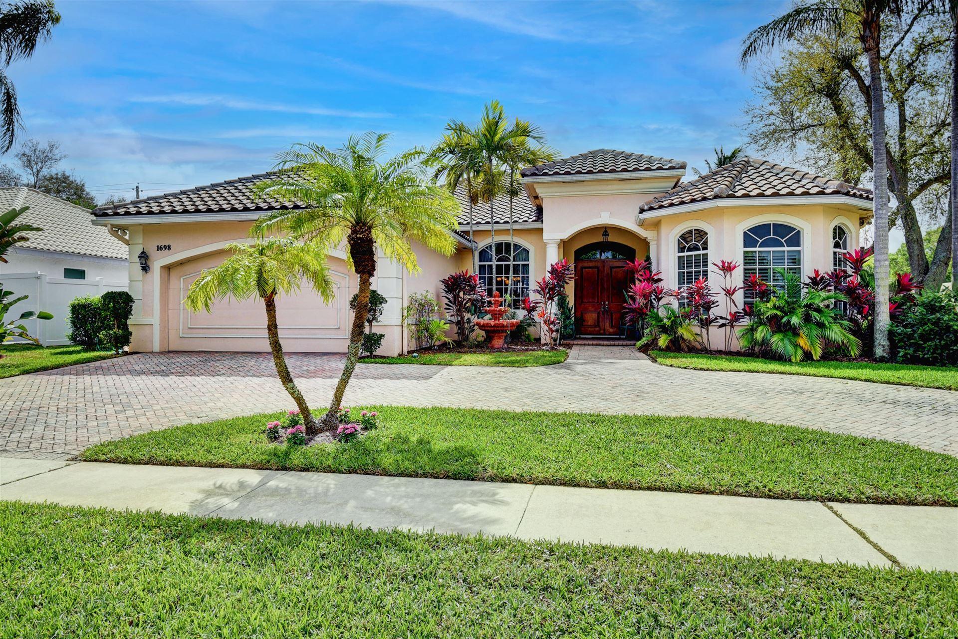 1698 SW 15th Street, Boca Raton, FL 33486 - #: RX-10694459