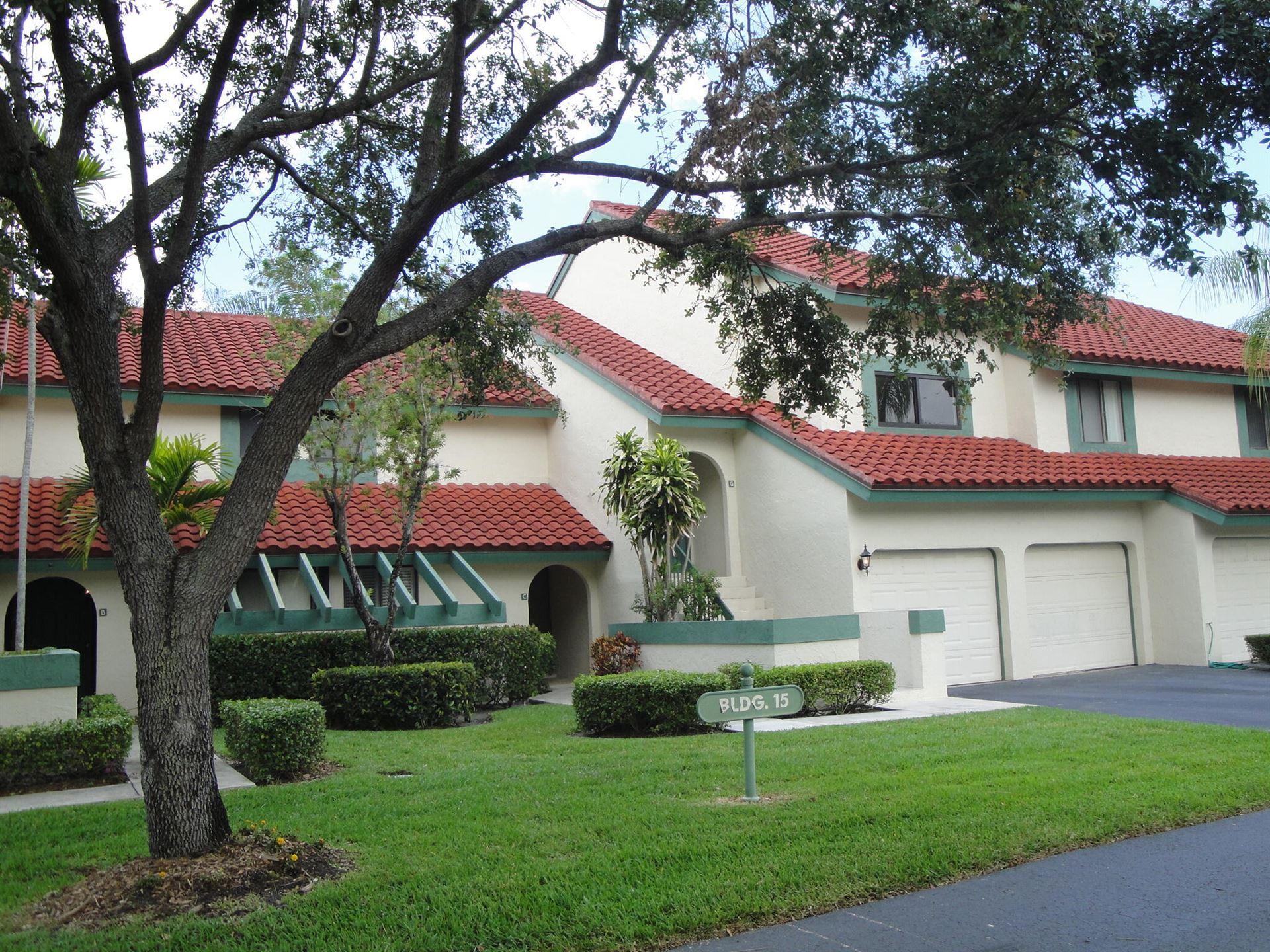 Photo of 15 Lexington Lane E #G, Palm Beach Gardens, FL 33418 (MLS # RX-10723459)