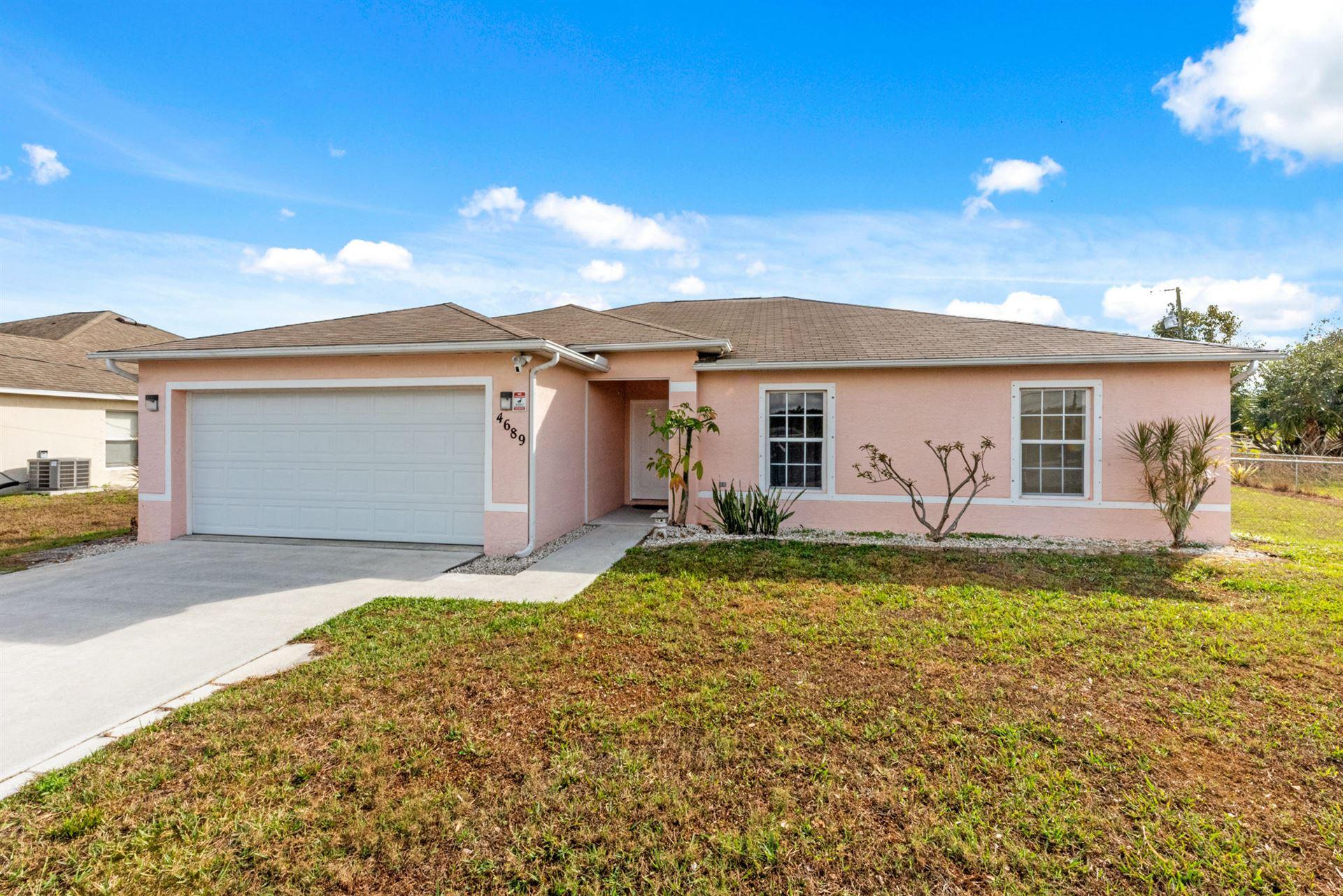 4689 SW Wade Drive, Port Saint Lucie, FL 34953 - #: RX-10692461