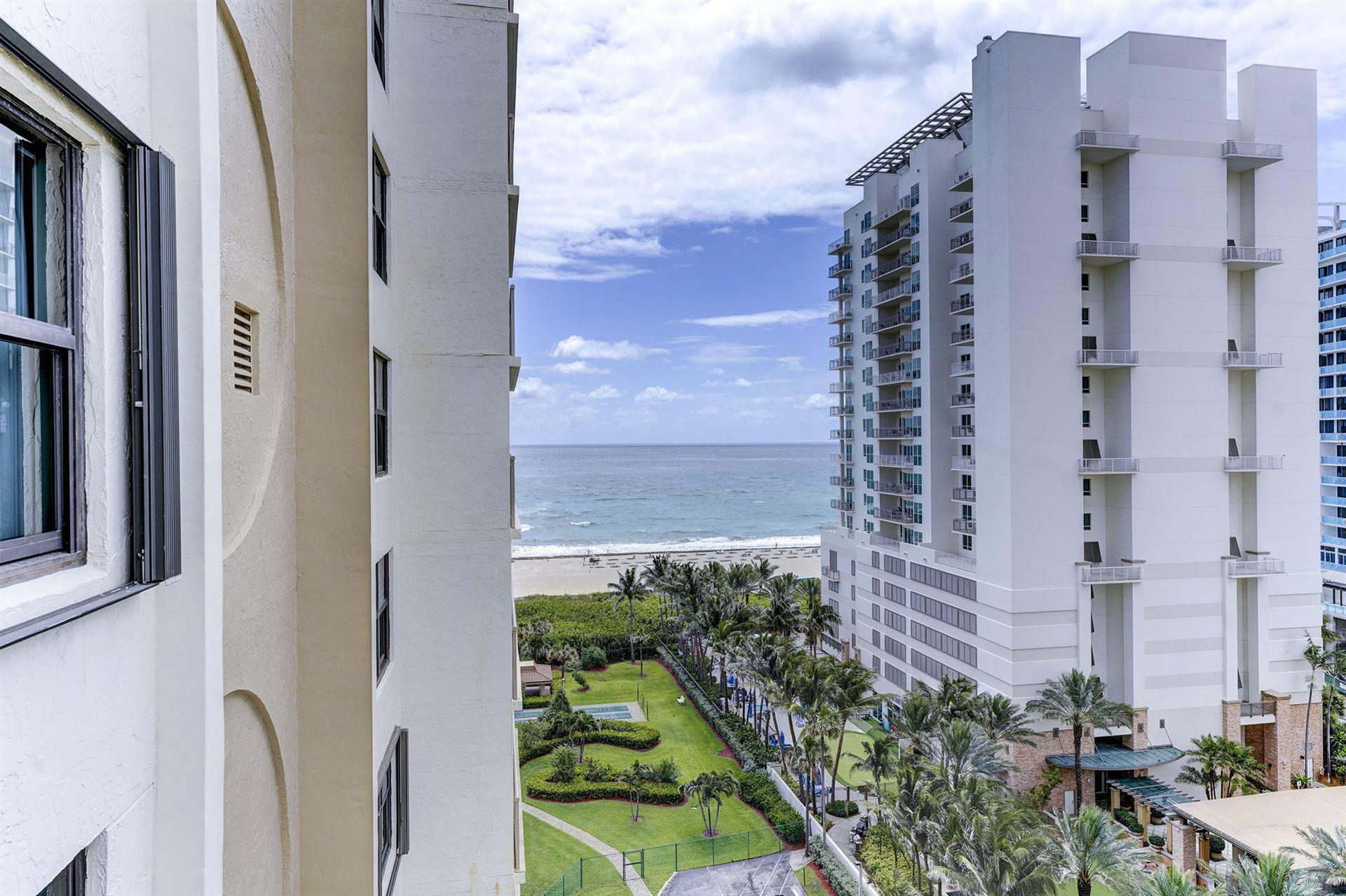 3400 N Ocean Drive #1206, Riviera Beach, FL 33404 - #: RX-10715461