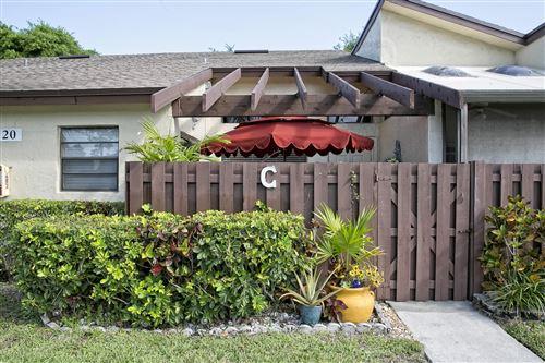 Photo of 5120 Nesting Way #C, Delray Beach, FL 33484 (MLS # RX-10706462)