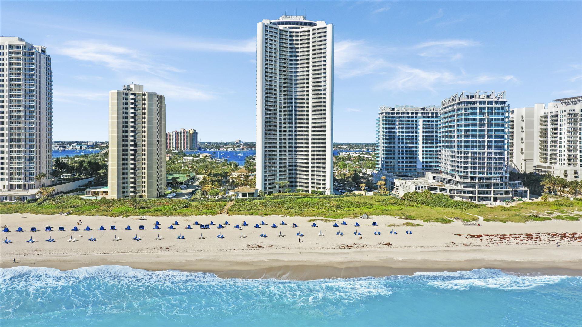Photo of 3000 N Ocean Drive #35h, Riviera Beach, FL 33404 (MLS # RX-10637464)
