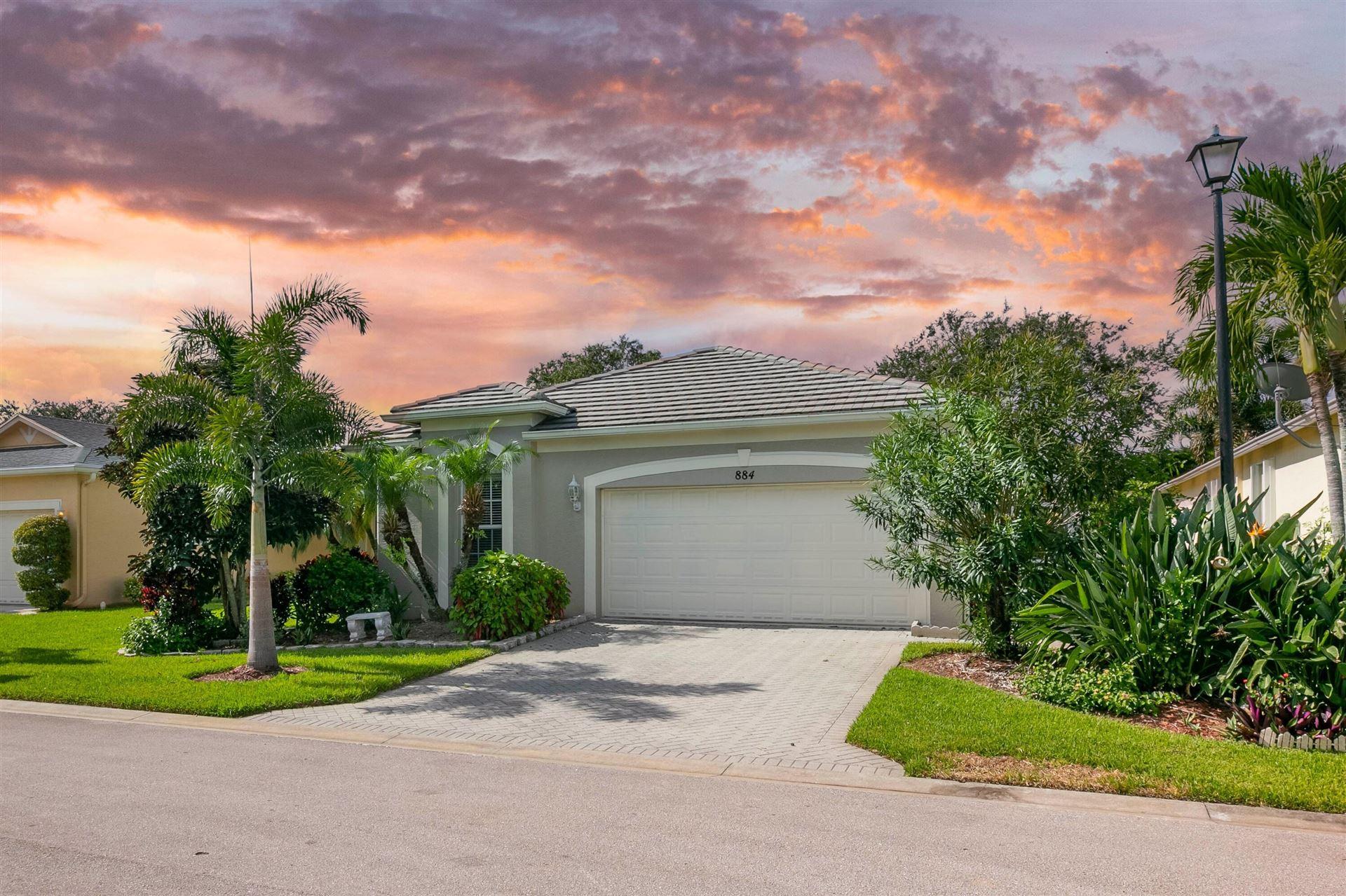 884 SW Rocky Bayou Terrace, Port Saint Lucie, FL 34986 - #: RX-10731464