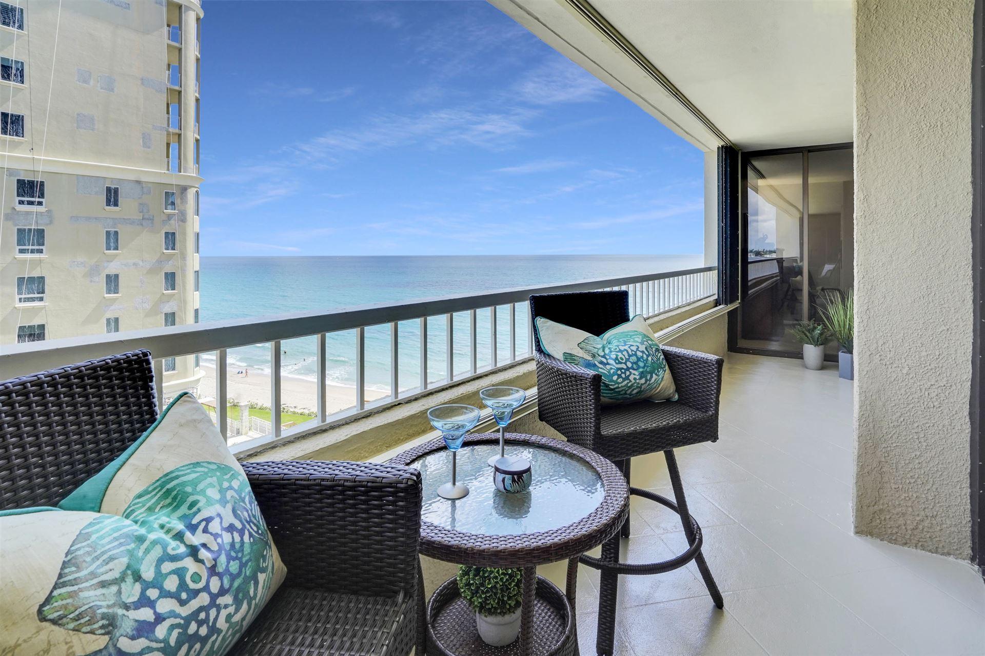 Photo for 5280 N Ocean Drive #5c, Singer Island, FL 33404 (MLS # RX-10738464)