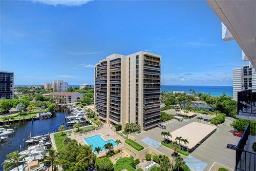 Photo of 4750 S Ocean Boulevard #Ph12, Highland Beach, FL 33487 (MLS # RX-10633465)