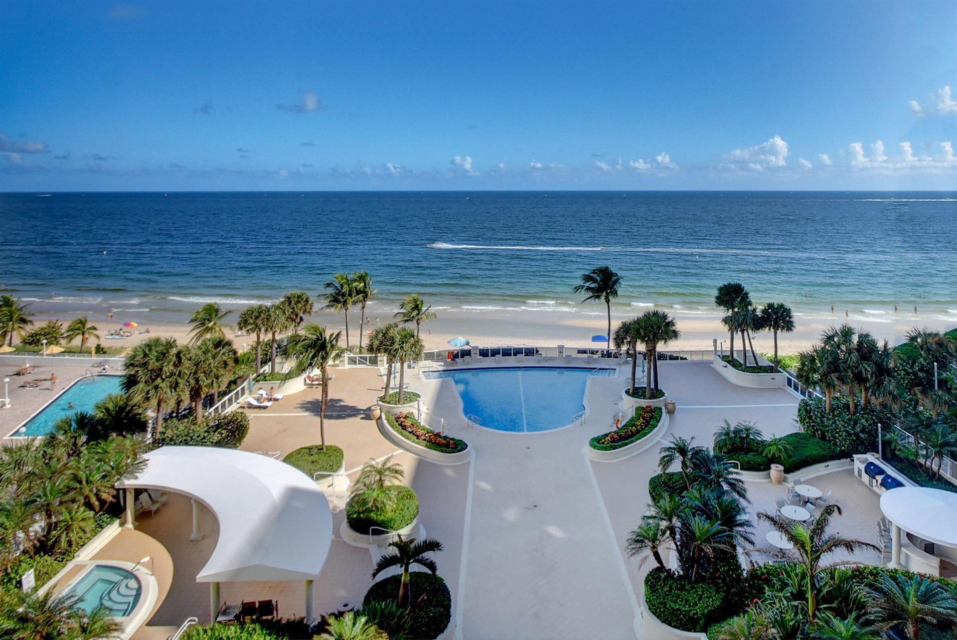 Photo of 4240 Galt Ocean Drive #803, Fort Lauderdale, FL 33308 (MLS # RX-10672466)
