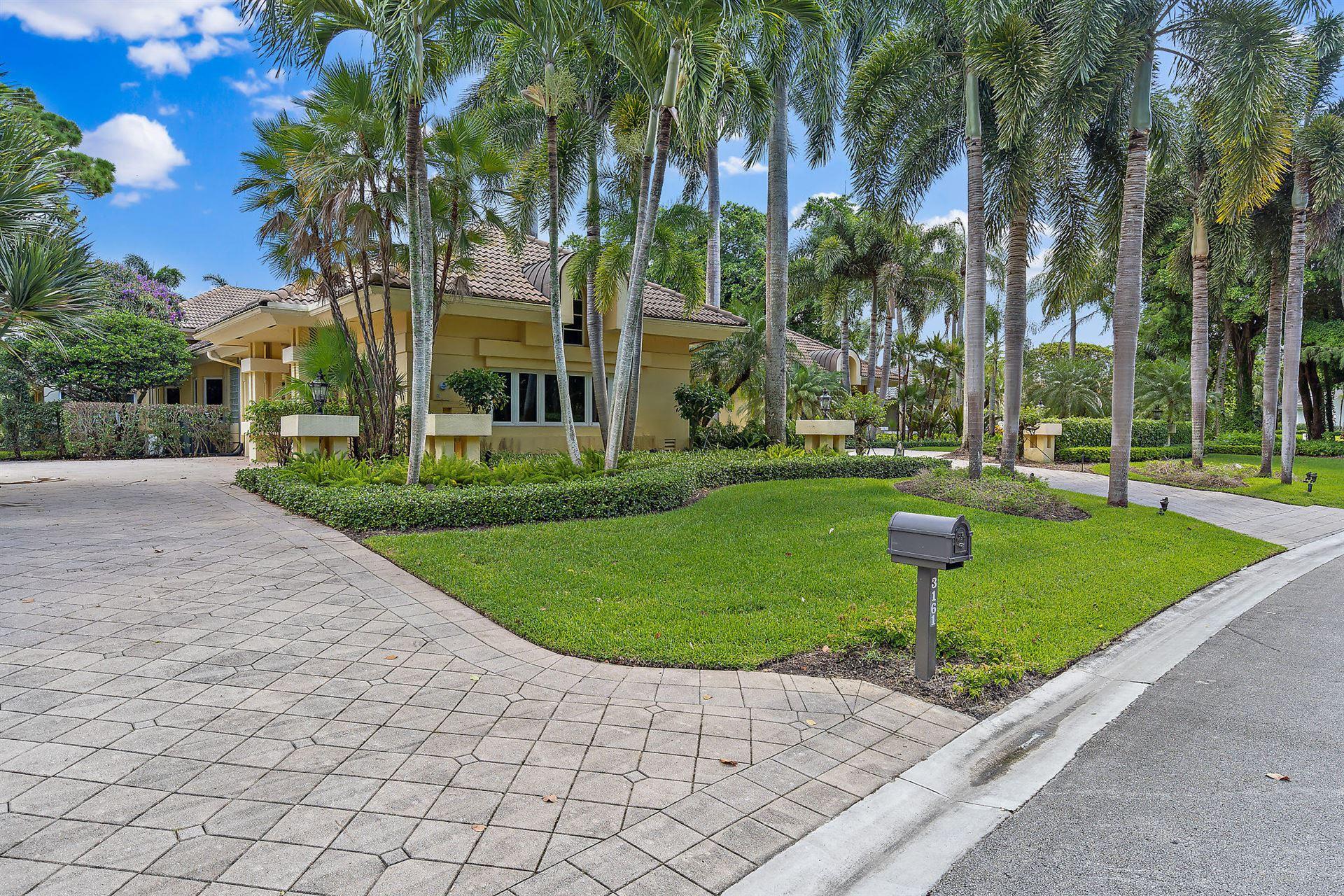 Photo of 3161 Monet Drive W, Palm Beach Gardens, FL 33410 (MLS # RX-10640473)