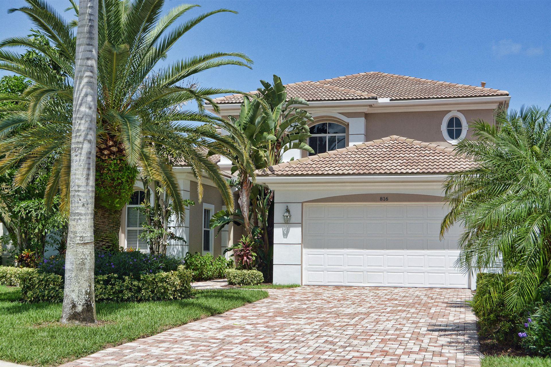 Photo of 816 Floret Drive, Palm Beach Gardens, FL 33410 (MLS # RX-10671474)