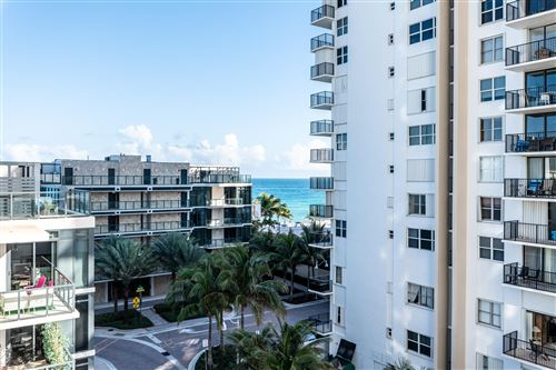 Photo of 2101 S Ocean Drive #601, Hollywood, FL 33019 (MLS # RX-10692475)
