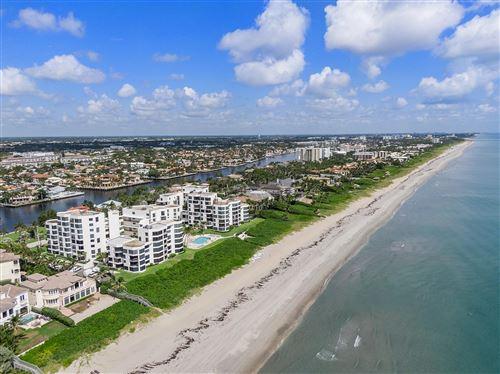 Photo of 2575 S Ocean Boulevard #101s, Highland Beach, FL 33487 (MLS # RX-10744475)