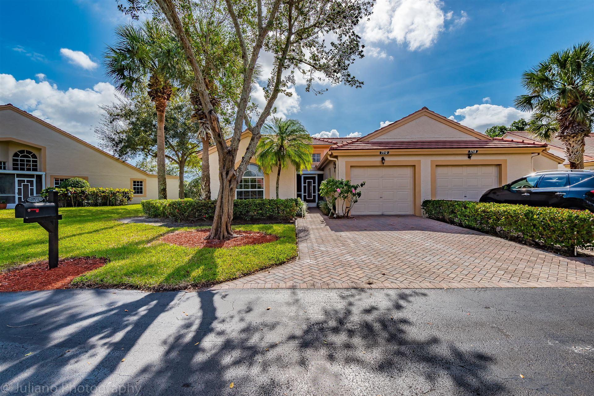 7712 Coral Lake Drive, Delray Beach, FL 33446 - #: RX-10593476