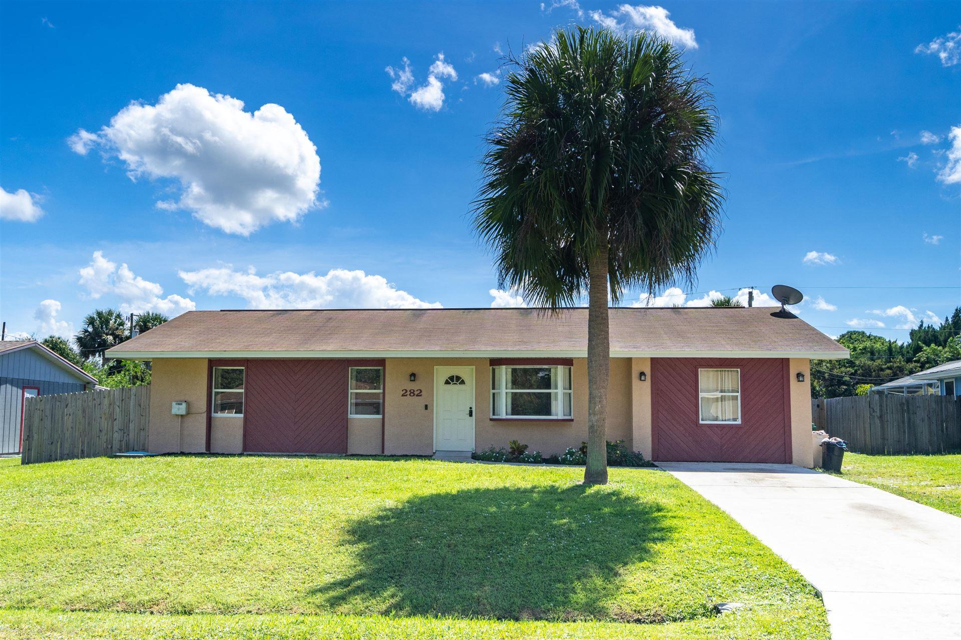 282 SE Grove Avenue, Port Saint Lucie, FL 34983 - #: RX-10663479