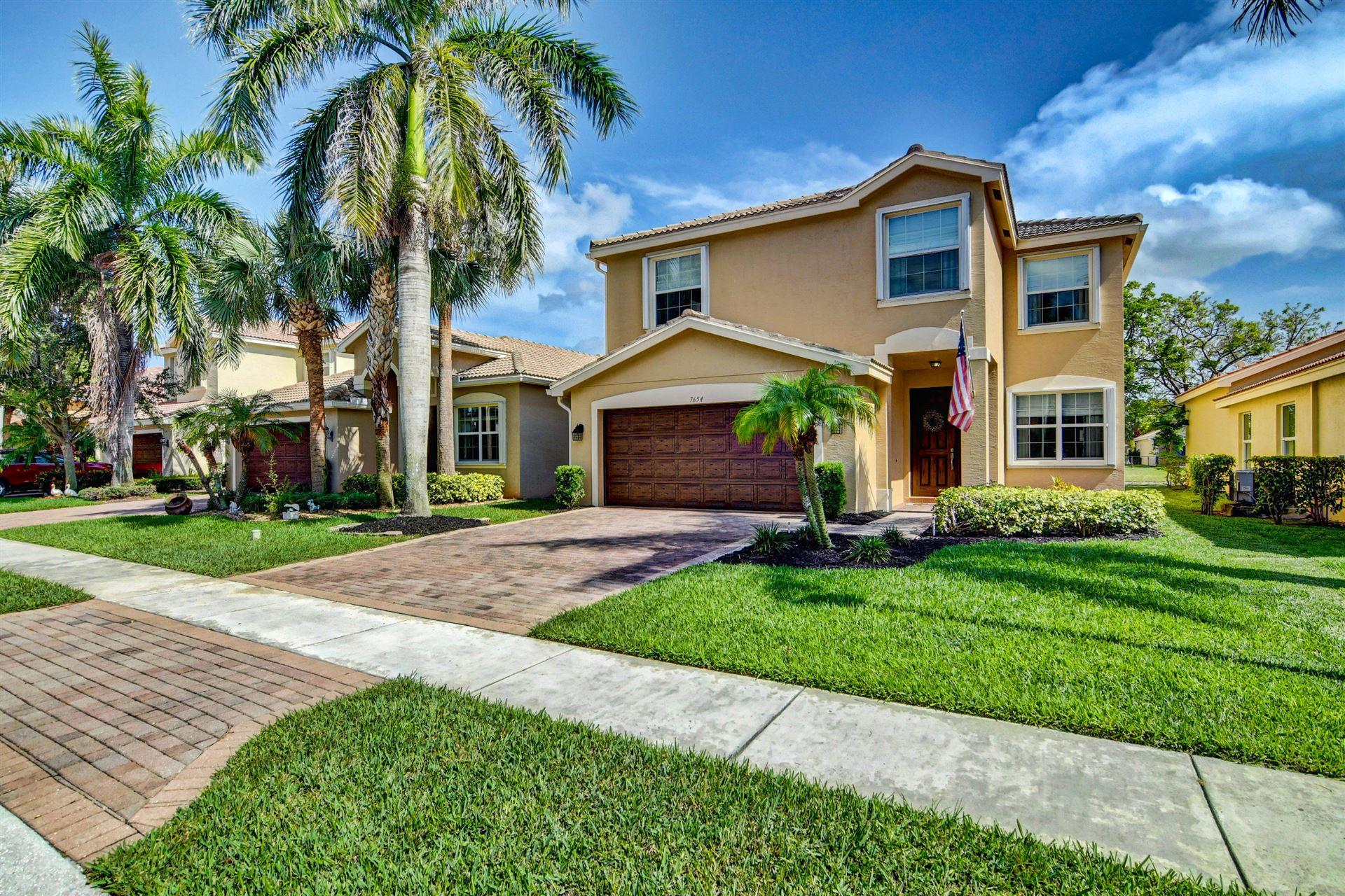 7654 Jewelwood Drive, Boynton Beach, FL 33437 - #: RX-10723480