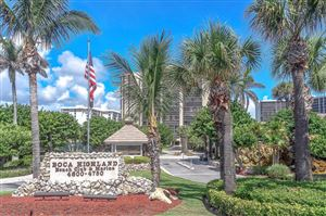 Photo of 4600 S Ocean Boulevard #304, Highland Beach, FL 33487 (MLS # RX-10439481)