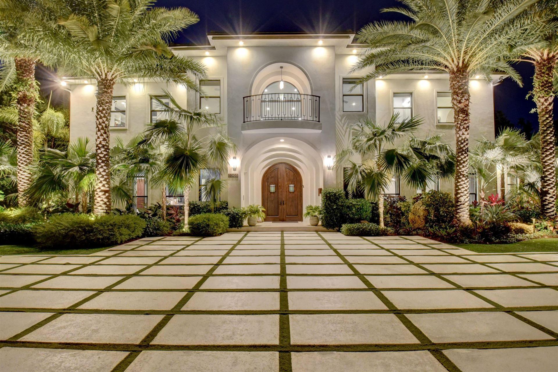 605 Wiggin Road, Delray Beach, FL 33444 - MLS#: RX-10712481